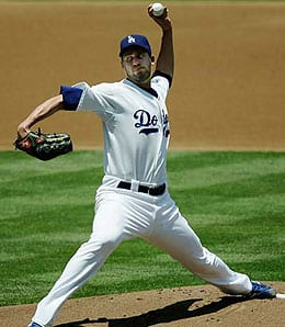 Mark Hendrickson has been traded to the Los Angeles Dodgers.
