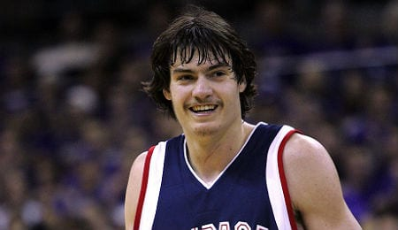 Adam Morrison helped put the Gonzaga Bulldogs on the map.