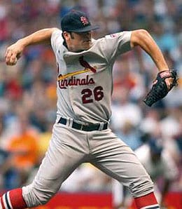 Anthony Reyes looked better in his last start for the St. Louis Cardinals.