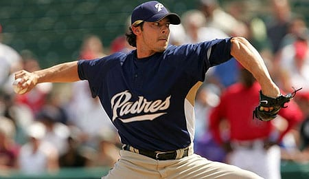 Clay Hensley is doing a great job for the San Diego Padres.