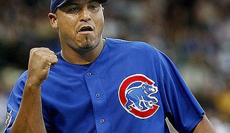 Carlos Zambrano is emerging as the ace of the Chicago Cubs.