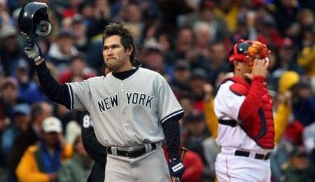 Johnny Damon is heating up for the New York Yankees.