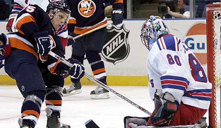 Forget about his spear of Sidney Crosby; New York Islander left winger Jason Blake should be lauded for his goal scoring.