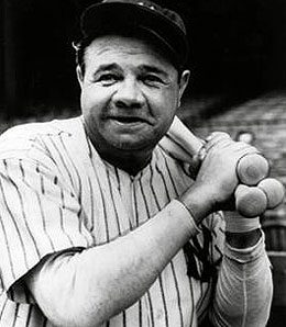 Former Yankee great Babe Ruth is the king of Win Shares.