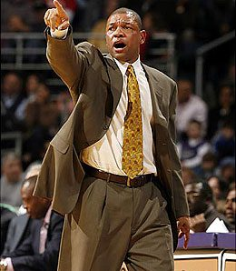 Coach Doc Rivers has the Boston Celtics playing their best ball of the year.