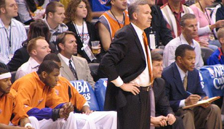 Phoenix Suns coach Mike D'Antoni is trying to get his team to the finals for the first time in years.