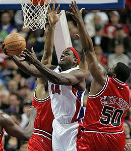 Detroit Pistons centre Chris Webber could be a good addition if he's on your waiver wire.