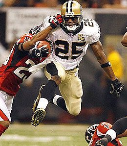New Orleans Saints running back Reggie Bush is ready to dominate.