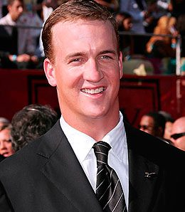 Indianapolis Colts quarterback Peyton Manning has his ring, so the world can again spin on its axis.