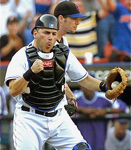 New York Mets catcher Paul Lo Duca might have miss some time.