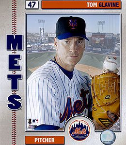 New York Mets starter Tom Glavine is about to join the 300-win club.