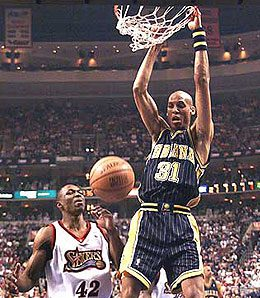 Some would like to remember Reggie Miller is his prime.