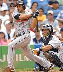 Brian Roberts has cooled off for the O's.