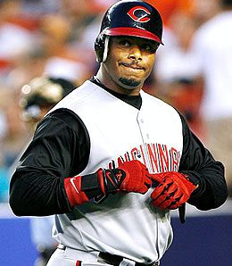 Cincinnati Reds' outfielder Ken Griffey Jr. is done for the year.