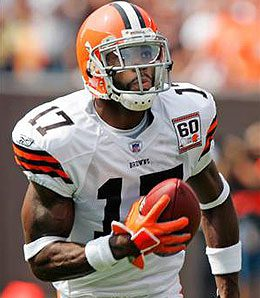 Braylon Edwards is having a breakthrough season for the Browns.