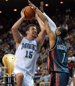 Hedo Turkoglu is a completely different player this year.