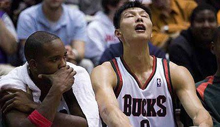 Yi Jianlian has stepped up his game lately.