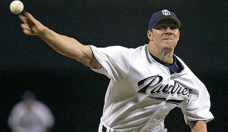 NL Cy Young winner Jake Peavy is nearing the top of the class.
