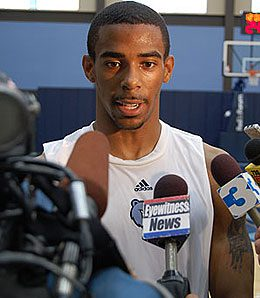 Mike Conley, Jr. has taken over as the Grizzlies' PG.