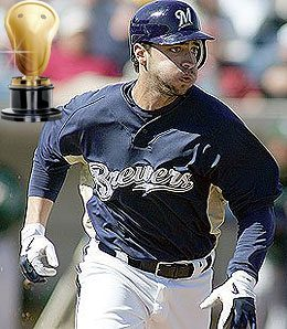 Ryan Braun was a man among boys in this year's rookie class.