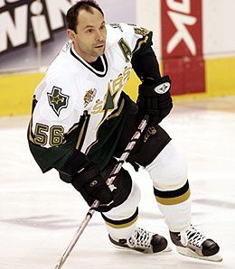 Sergei Zubov's foot may keep him out another month.