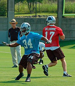 Will the Panthers finally let DeAngelo Williams carry the load?