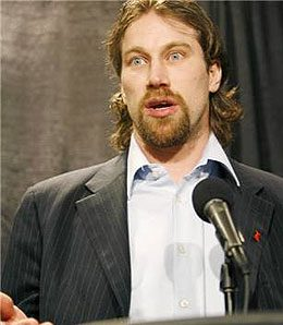 Peter Forsberg is back with the Avalanche.
