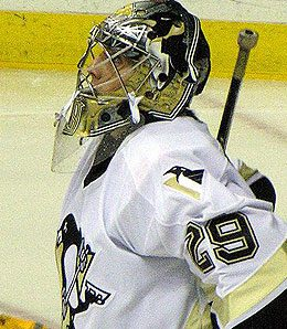Marc-Andre Fleury was the man in Game One.