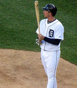 Clete Thomas has been awful for the Detroit Tigers this season.