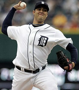 Armando Galarraga has had serious control problems for the Detroit Tigers this season.