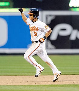 Cesar Izturis will be out another month for the Baltimore Orioles.