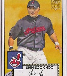 Shin-Soo Choo is heating up for the Cleveland Indians.