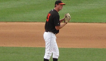 Brian Matusz is now up with the Baltimore Orioles.