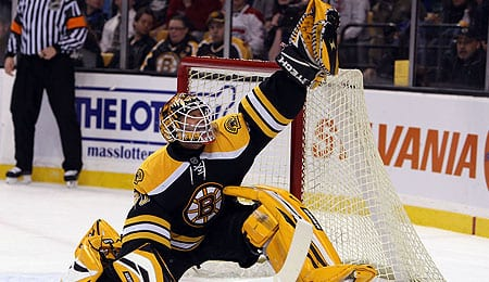 Tim Thomas is poised to have a big year for the Boston Bruins.