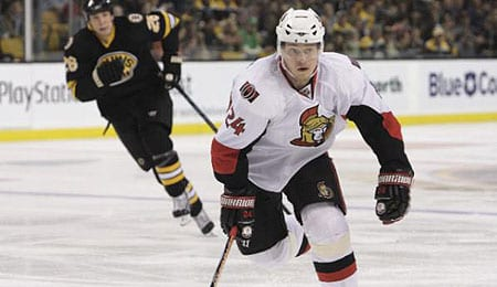 Anton Volchenkov is a force for the Ottawa Senators.