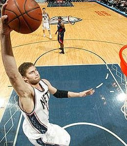 Brook Lopez is poised to have a huge season for the New Jersey Nets.