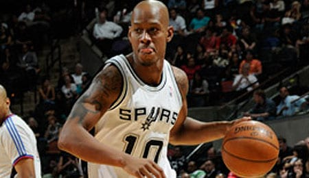 Keith Bogans isn't doing much for the San Antonio Spurs.