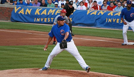 Carlos Zambrano has endured a heavy workload for the Chicago Cubs.