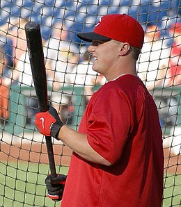 Jay Bruce could explode for the Cincinnati Reds in 2010.