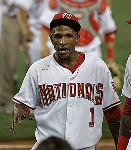 Nyjer Morgan provided a great spark for the Washington Nationals.