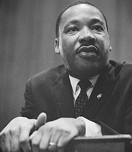 Happy Martin Luther King Day to everyone.