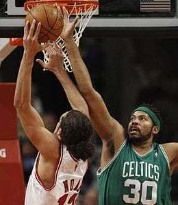 Rasheed Wallace is still whining now that he's with the Boston Celtics.