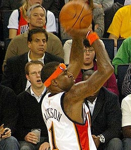 Stephen Jackson has made a massive difference to the Charlotte Bobcats.