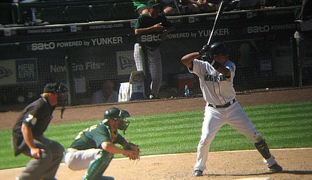 Jose Lopez may be changing positions for the Seattle Mariners.