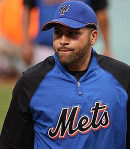 Omir Santos could be the starting catcher for the New York Mets.