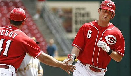 Drew Stubbs could be a factor for the Cincinnati Reds this season.