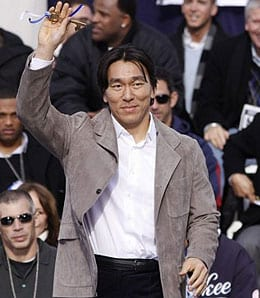 Hideki Matsui has moved to the Los Angeles Angels.