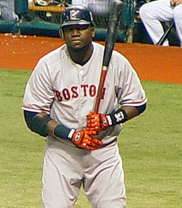 David Ortiz is off to another slow start for the Boston Red Sox.