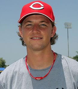 Mike Leake is the fifth starter for the Cincinnati Reds.