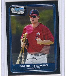 Mark Trumbo could take over at first for the Los Angeles Angels.